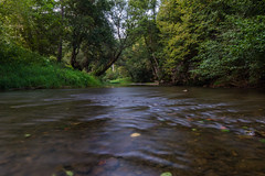 Long exposure of a flowing river