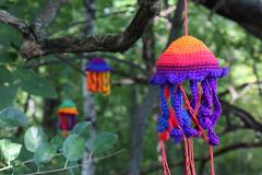 Arboretum Yarn Bomb-3