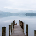 Morning mist Ashness Jetty by Iain Houston