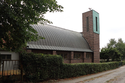Klötze, Kirche St. Joseph, Zollinger-Dach