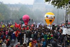 """Manifestation à Paris contre la """"réforme"""" des retraites"""