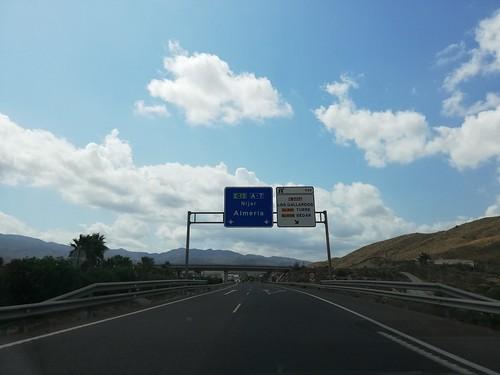 A-7 - saída Los Gallardos