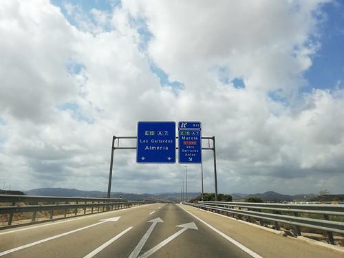 AP-7 - saída A-7 Murcia