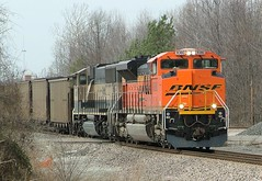 BNSF 9380 (SD70ACe) Palos Coal  Memphis, Tennessee