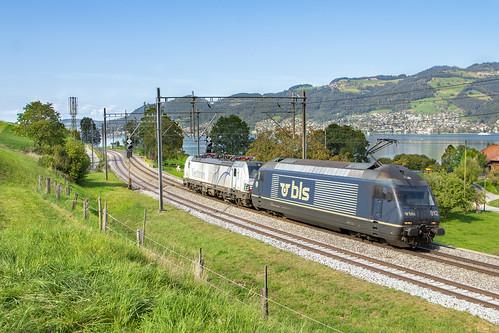Einigen, 16 september 2019   BLS Cargo 465 012