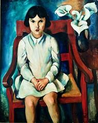 Untitled [Seated Girl]  (c.1930)- Sarah Affonso (1899-1983)