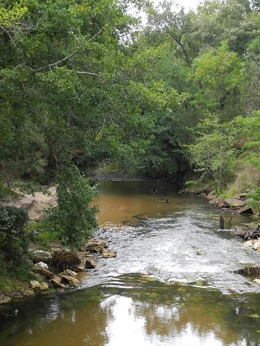 Le fleuve la Grande Leyre / Der Küstenfluss Grande Leyre / Прибрежная река Гран-Лер