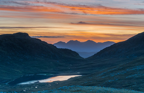 Through the Bealach ..