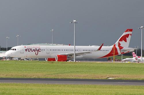 C-GKFB A321-211 Air Canada Rouge