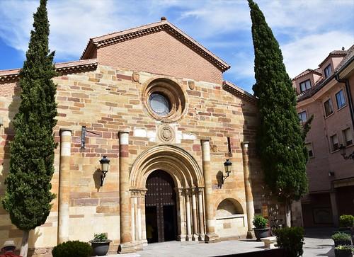 Iglesia de San Juan del Mercado (Benavente, Castilla y León, España, 8-6-2019)