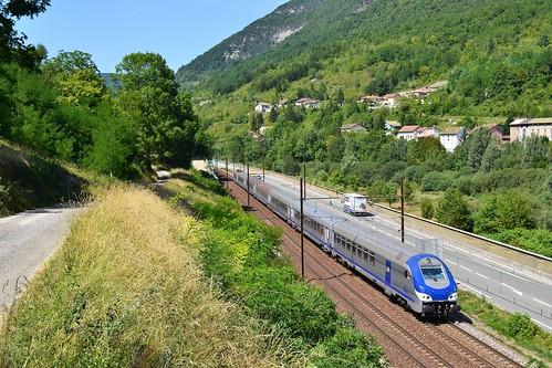 🇫🇷 SNCF B5uxh 50 87 80-77 138 Corail te Argis