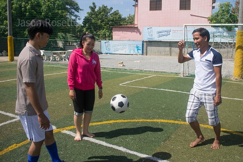 Magical Football Hovers Between Youth in Asia