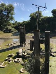 Low tide near Brentford