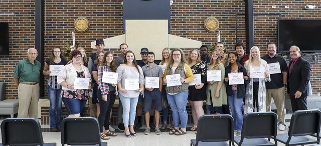 2019 Fall TRF Scholarship Ceremony