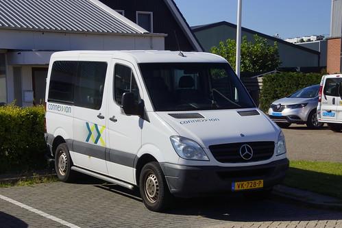 Mercedes-Benz Sprinter 906 AC 30 Connexxion met kenteken VK-728-P in Den Burg 21-09-2019