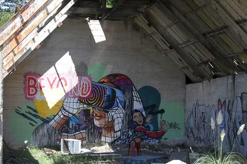 Derilict Building Graffitti