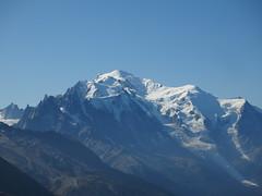 Mont Blanc @ Hike to l'Arolette @ Domaine de Balme - Vallorcine @ Chamonix
