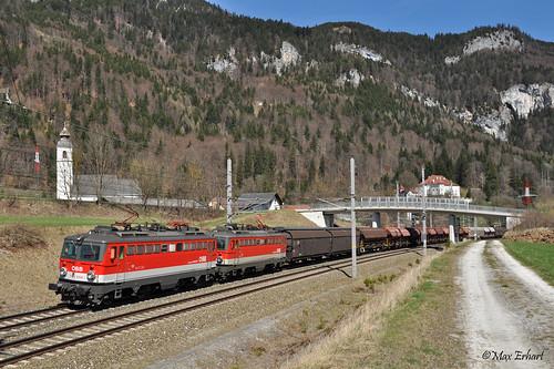 ÖBB 1142 693 & 684 | SGAG 94002 | Stainach-Irdning (A)