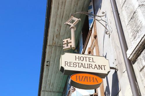 Hotel Restaurant Schlüssel in Wiedlisbach BE 18.8.2019 1909