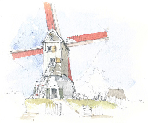 België, Gistel, Oostmolen