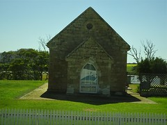 Mount Dutton Bay on Eyre Peninsula. The former Methodsit Church which is now a fine residence.