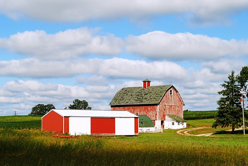 Farm near Dane, Wisconsin