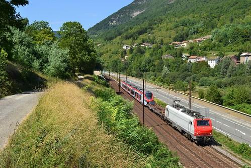🇫🇷 Europorte BB 37510 + trein 62951 te Argis