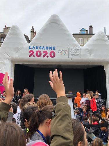 Lausanne 2020 - Torch Tour Morges