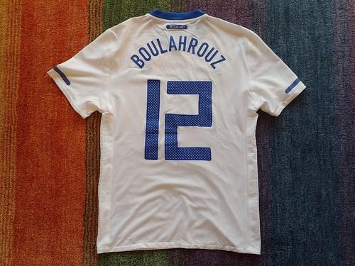 Nederland match worn shirt 2011 Khalid Boulahrouz vs. Brasil (04.06.2011)