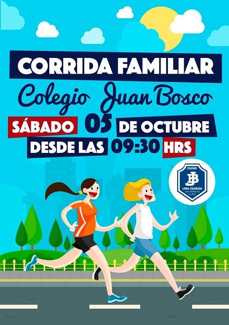 Corridas Familiares Colegio Juan Bosco