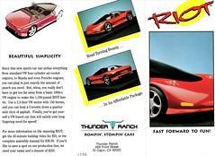 1996 RIOT Kit Car Brochure