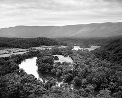 Shenandoah River and Massanutten Mountain