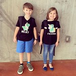 by bartlewife - Twin Day at school! These guys are so cute!