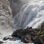 3rd - Colour -  Kjosfossen Waterfall Norway by John Russell - Print League 1 Open Colour & Mono