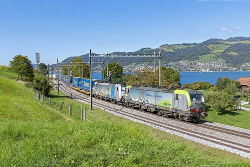 Einigen, 17 september 2019   BLS Cargo 475 412