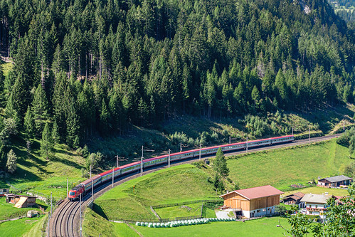 ÖBB Italia -  Eurocity 88 by Sankt Jodok - Austria