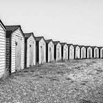 Beach Huts by Rachel Dunsdon