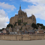 A-round Mont St Michel by John Reddington