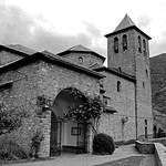 Church at Torla-Ordesa in the Spanish Pyrenees by John Reddington