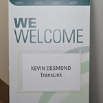 September 26 '19 - Lunch with TransLink CEO Kevin Desmond