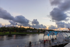 University of Tampa Cloudy Sunset