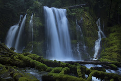 Downing Creek Falls, Oregon