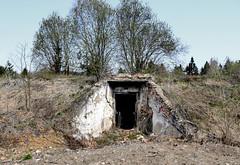 the abandonned bunker