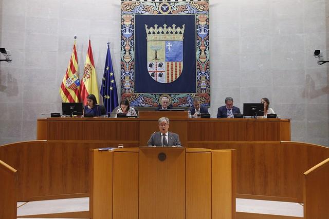 Presentación en las Cortes de Aragón del Informe anual de 2018