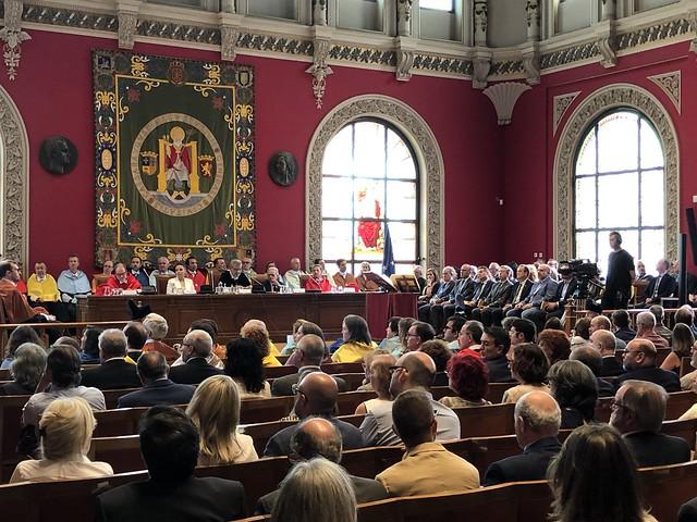 Inauguración Curso Academico de la Universidad de Zaragoza