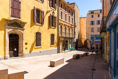 Narbonne street - Photo of Coursan