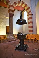DSC02821.jpeg - Hildesheim  St. Michael / Taufbecken