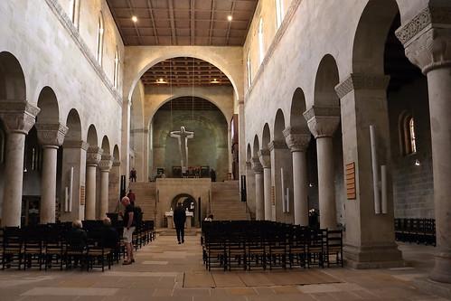 Innenraum, Stiftskirche St. Servatii, Quedlinburg