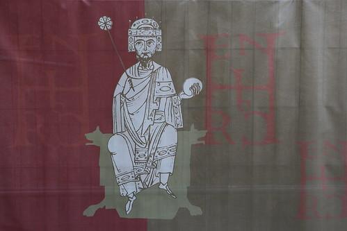 Heinrich I, Plakat zur Ausstellung