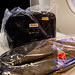 Tumi amenity kit and slipper